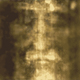 Image of the face on the Shroud of Turin
