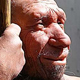 Image section of a Neanderthal Man